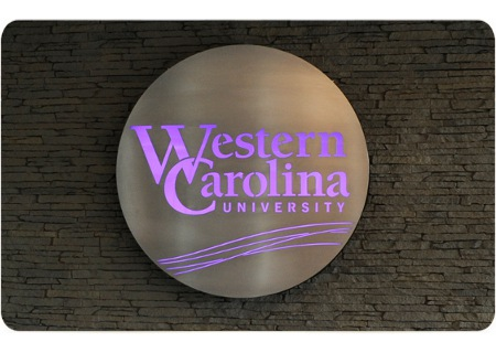 WCU Bookstore Sign