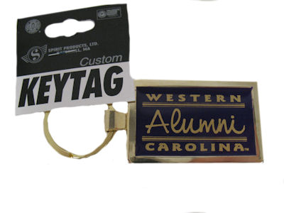 Keyring (Purple & Gold, Alumni)