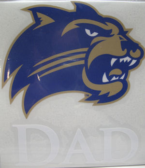 Decal --- Dad with Cathead