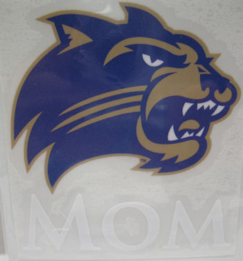 Decal --- Mom with Cathead