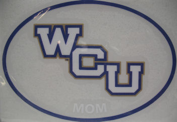 Decal --- Mom in Oval