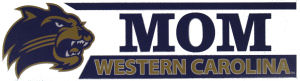 "Decal --- Mom ""Western Carolina"""