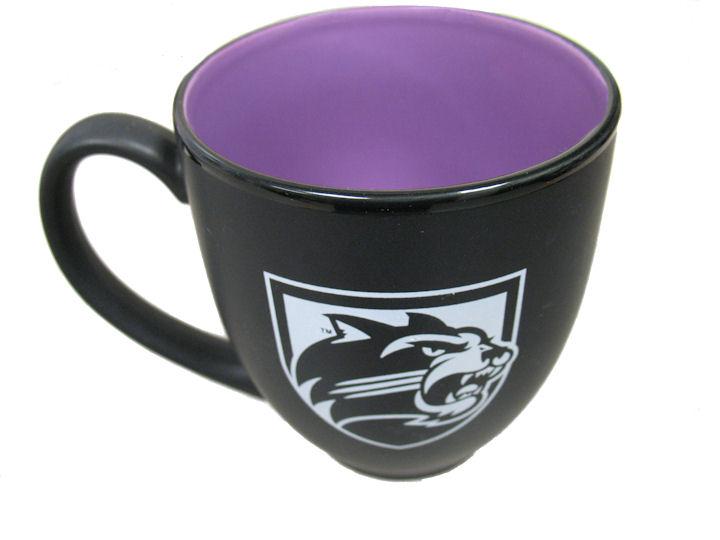 Mug (Black with Purple Inside)