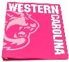 "Binder 1"" Bubblegum (Pink) w/ Cat & ""Western Carolina"" thumbnail"