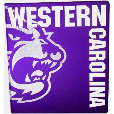 "Binder 1"" (Purple, Cat, Western Carolina)"
