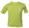T-Shirt (Bright Yellow, Cat on Pocket) thumbnail