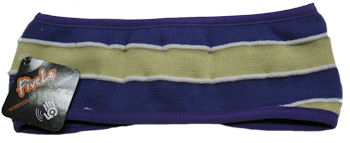 Headband (Purple & Gold Knit, by FiveLo)