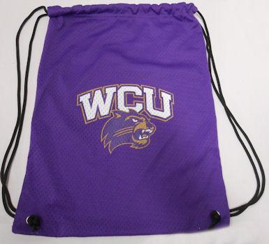 Backsack (Purple, WCU/Cat, Mesh)