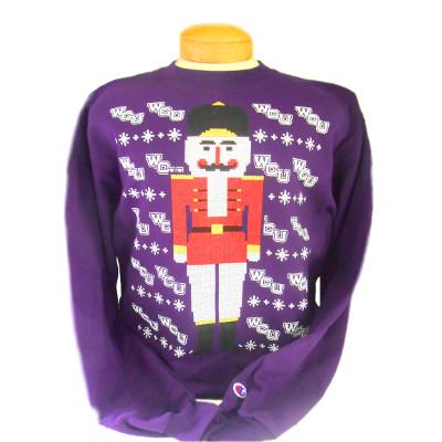 Crew Sweatshirt (Purple, Nutcracker/Soldier)