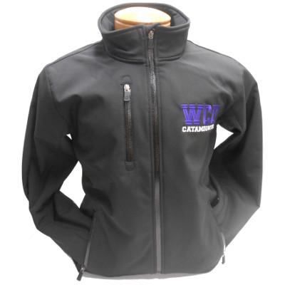 Jacket (Black, WCU Catamounts, SM-4X)