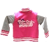 Toddler Jacket --- Pink & Grey, Cat thumbnail
