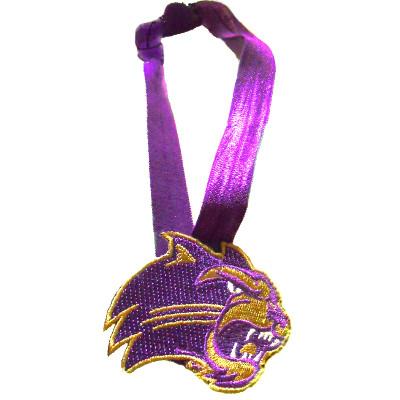 Headband --- Purple with Cathead