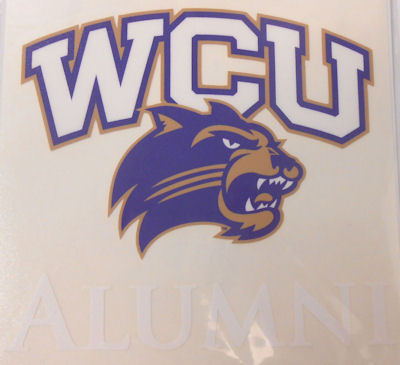 Decal --- WCU/Cat Alumni