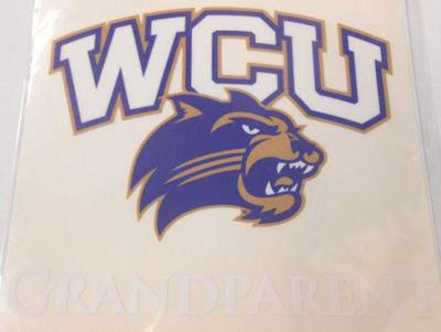 Decal --- WCU/Cat Grandparent