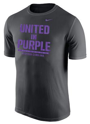 T-Shirt (Grey, United in Purple, Nike)