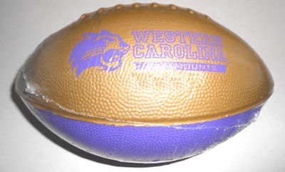 Image For Football (Foam, Purple & Gold)