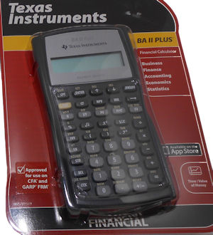 Image For BA II Plus Calculator