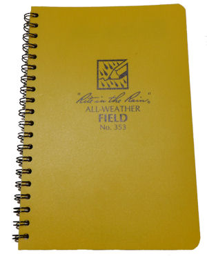 "Cover Image For ""Rite in the Rain"" Field Manual"