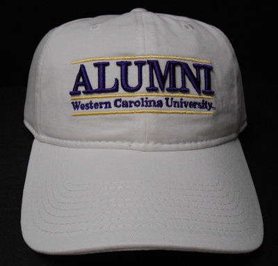 Image For Alumni Cap in White