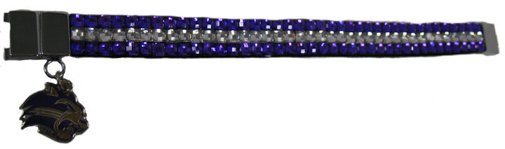 Image For Bracelet---Thin with Rhinestones