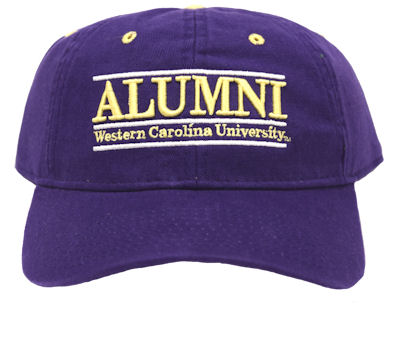 Image For Alumni Cap in Purple (Alumni / Western Carolina University)