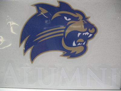 "Image For Decal --- ""Alumni"" with Cathead"