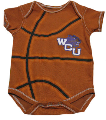 Cover Image For Infant Onesie (Basketball)