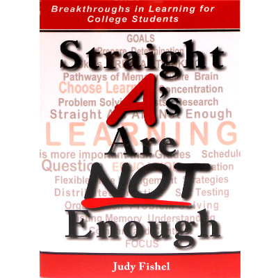 Image For Judy Fishel -- Straight A's Are Not Enough