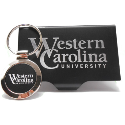 Image For Business Card Holder & Key Ring Combo