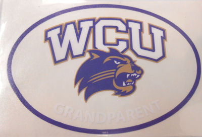 Image For Decal --- WCU/Cat Grandparent in Oval