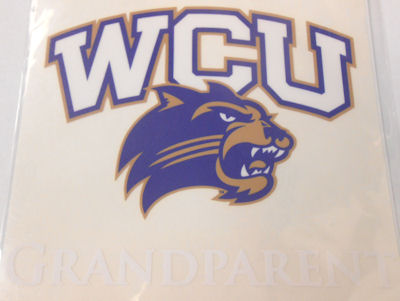 Cover Image For Decal --- WCU/Cat Grandparent