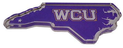 Image For Magnet (State of NC with WCU)