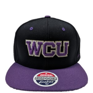 Cover Image For Cap (Black & Purple, WCU, Zephyr)