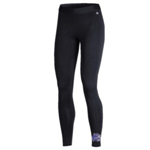 Image For Leggings for Ladies (Black, Cat at Bottom, Champion)
