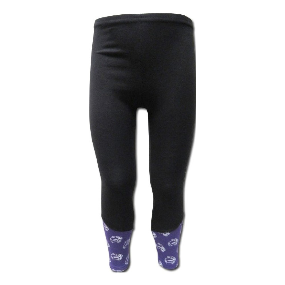 Image For Youth Leggings (Black with Cats, Third Street)