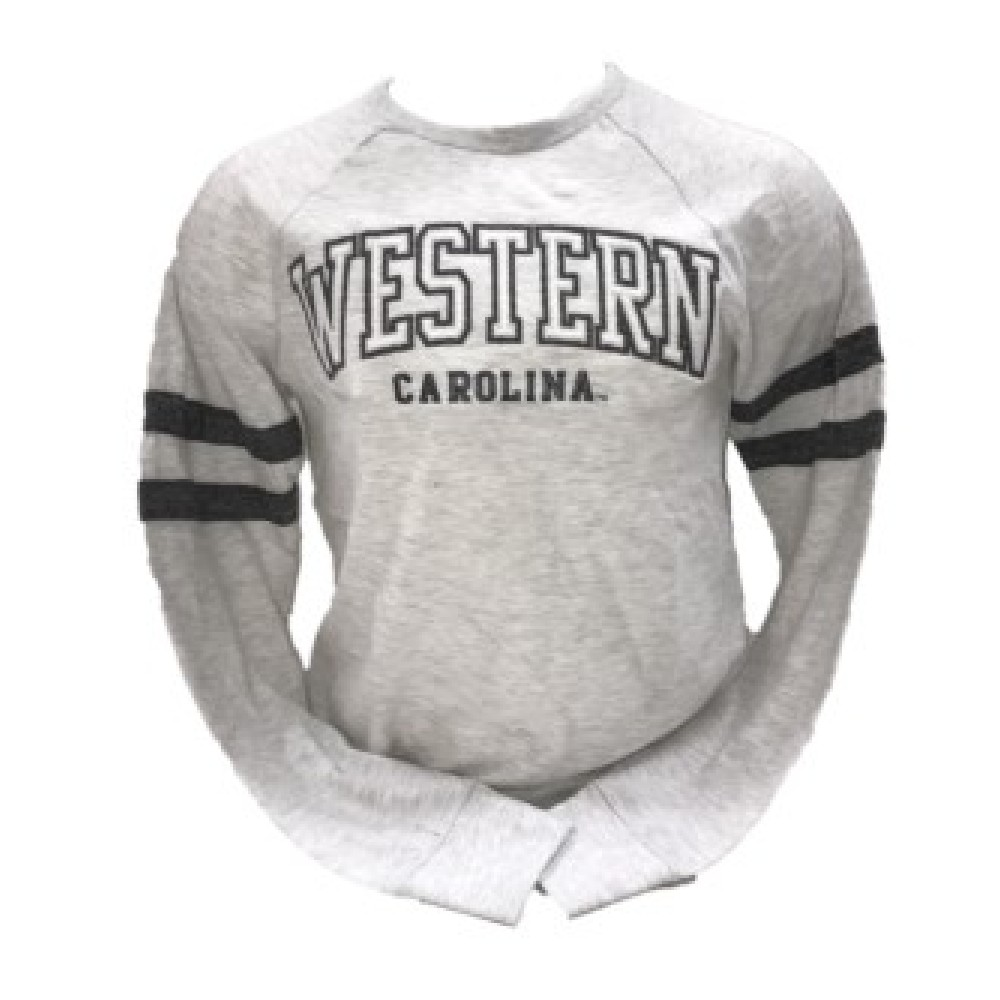 Image For Long-Sleeve T-Shirt (Grey, Western Carolina, MV Sport)