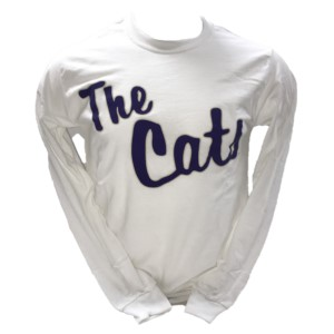 Image For Long-Sleeve T-Shirt (White, The Cats, MV Sport)