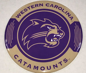 "Image For Magnet (3.5"" Western Carolina Catamounts/Cat)"