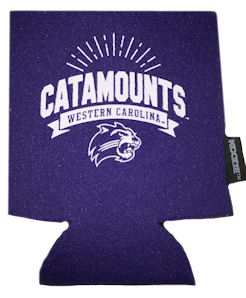Image For Can Hugger (Purple/White, Catamounts/WC/Cat, R&D)