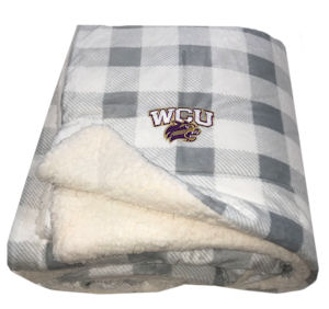 Image For Blanket (Grey/White, Sherpa, WCU/Cat, MV Sport)