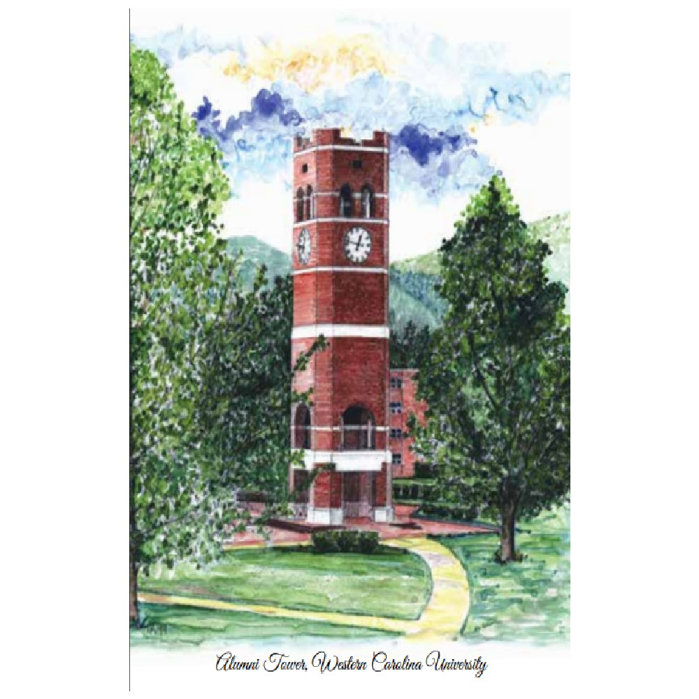 Image For Notecards (Alumni Tower, 10pk, Jardine)