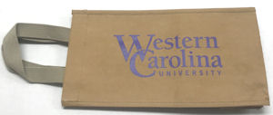 Image For Tote (Wine, Washable, Western Carolina University)