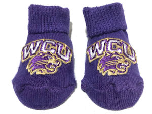 Image For Booties (Purple, WCU/Cat, Creative Knitwear)