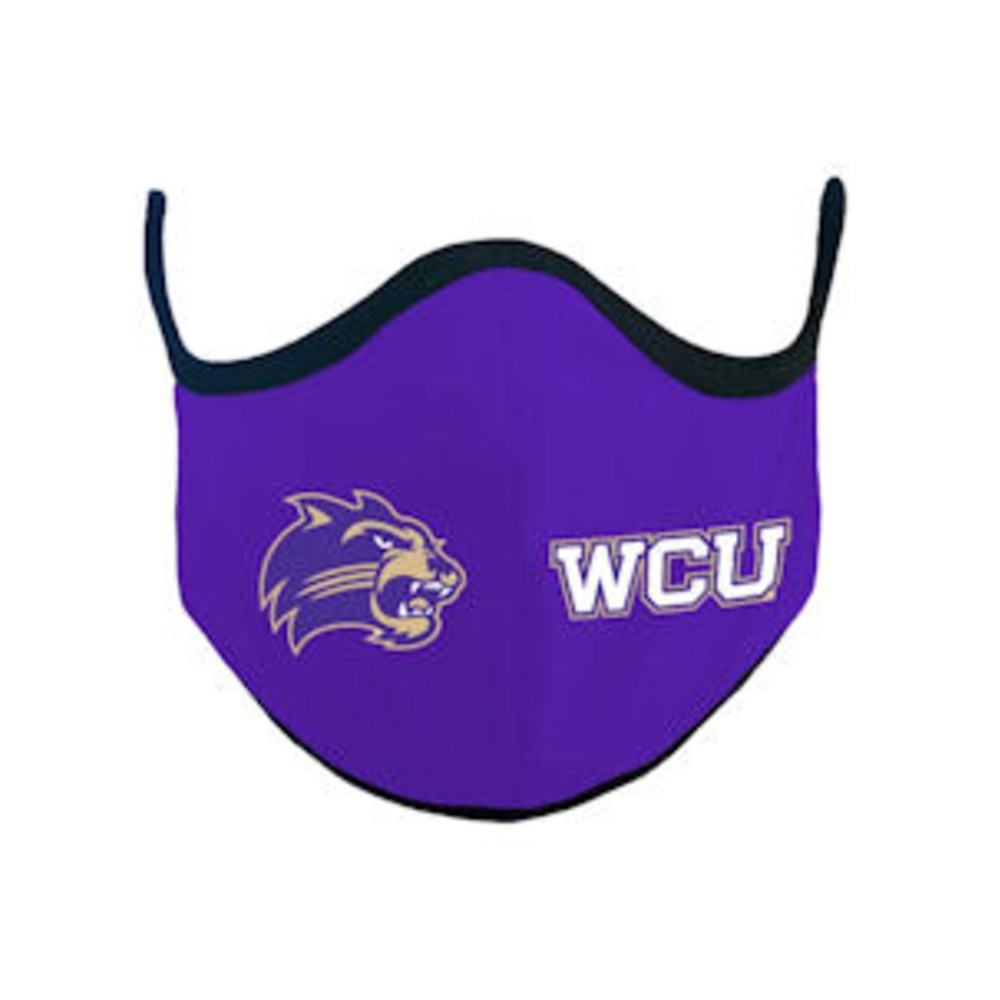 Cover Image For Face Mask--Purple with Black Trim