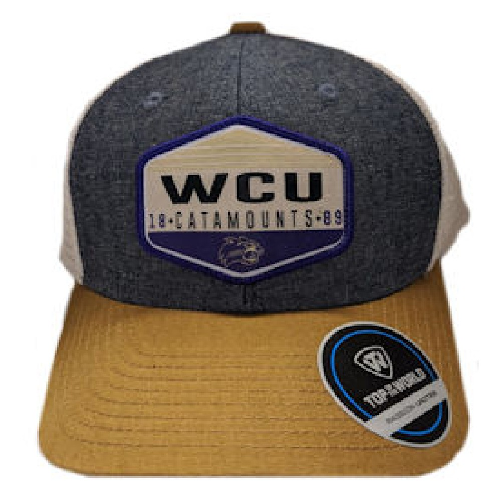 Image For Cap (3 colors, WCU 18/Catamounts/89 Cat, Top of the World)
