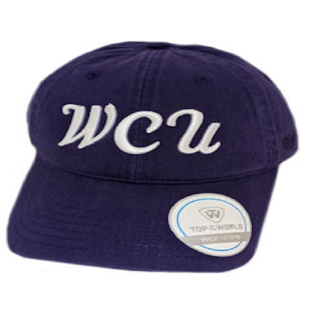 Image For Cap (Ladies', Purple, WCU, Top of the World)