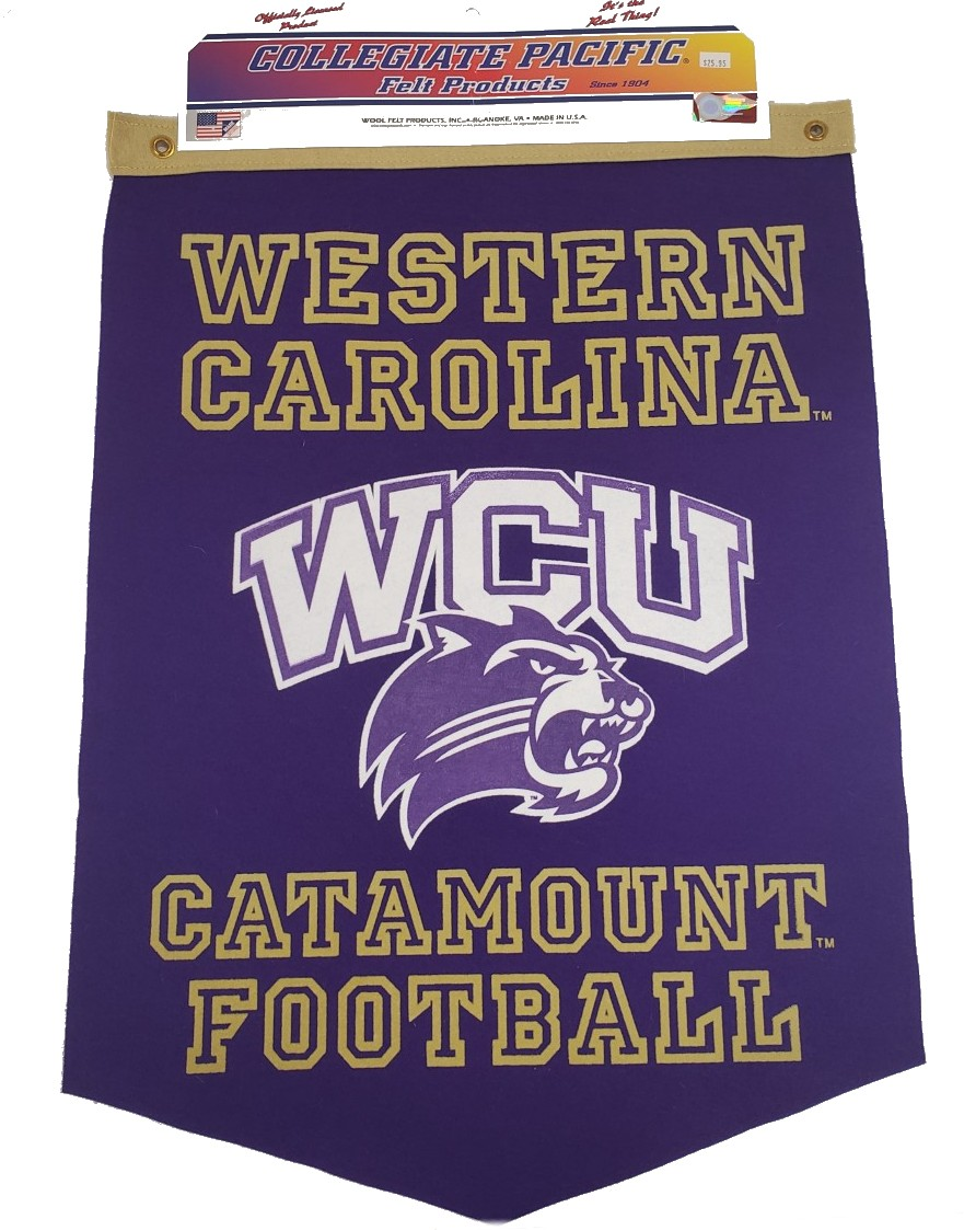 Image For Banner (Western Carolina, WCU/Cat, Catamount Football)