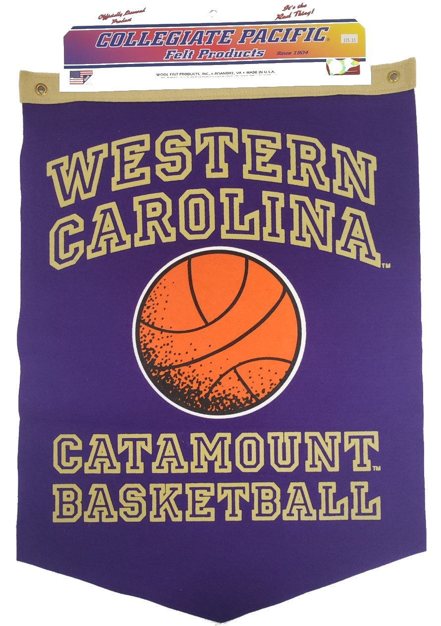 Image For Banner (Western Carolina, Basketball, Catamount Basketball)