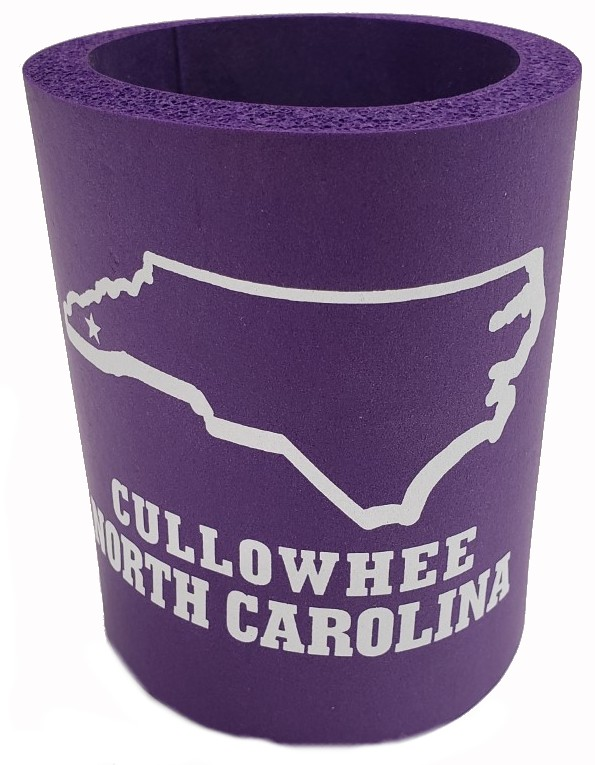 Image For Can Hugger (Purple/White, Cullowhee/North Carolina, State)