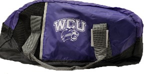 Image For Duffel Bag (Purple/Black, WCU/Cat)